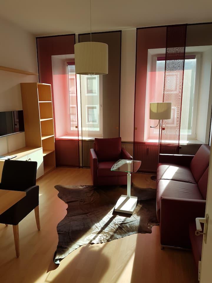 Luxuriöse 2-Zimmer-Whg im Zentrum  Kempten Allgäu