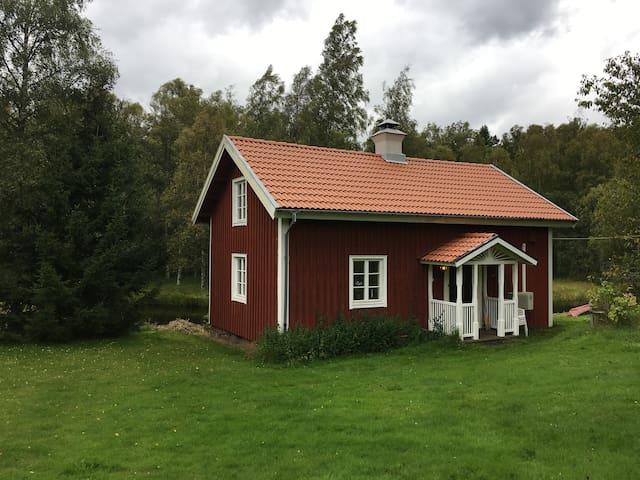 Nice cottage near ski resort Mullsjö Alpin