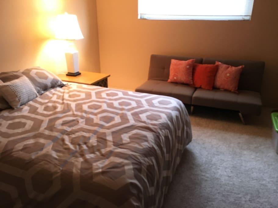 convertible sofa bed sleeps 1 adult