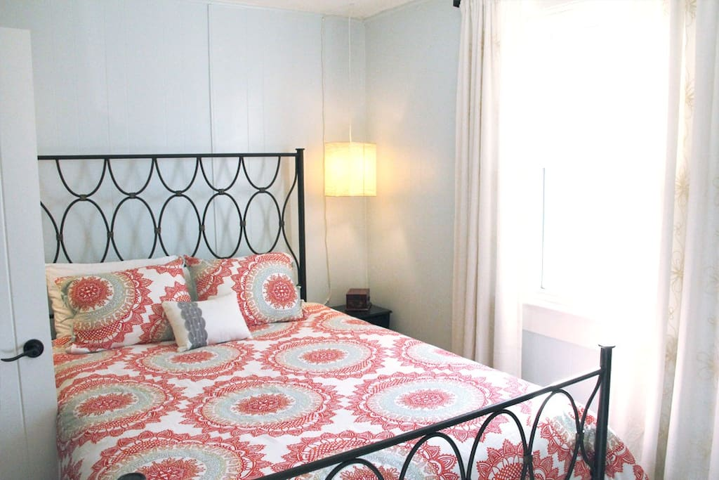 Sleep like a baby in our comfy Queen size bed