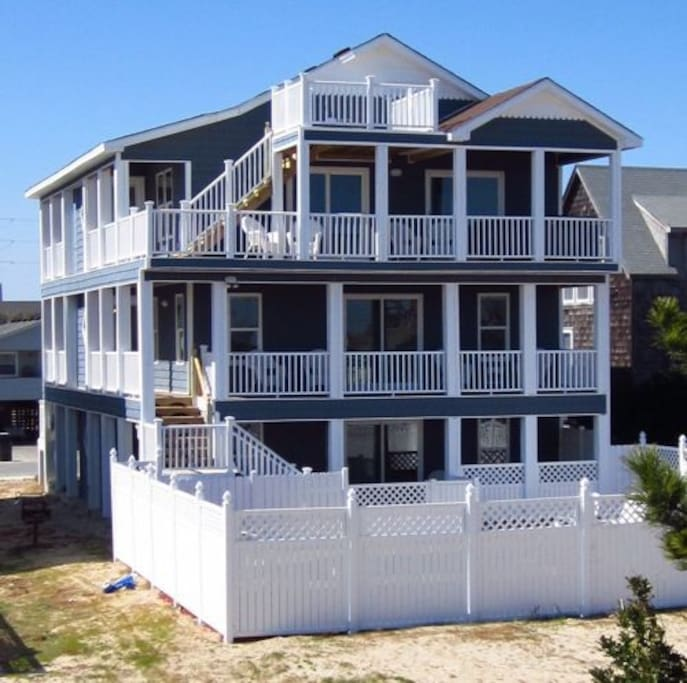 Sandbar Ii West Beach House Houses For Rent In Nags Head
