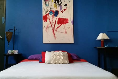 Fabulous Art Loft=Blue Room, Convenient to all - Saugerties - Loft