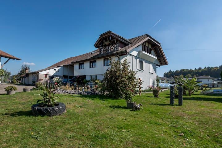 Altbauwohnung in einem Bauernhaus - Rothrist - Hus