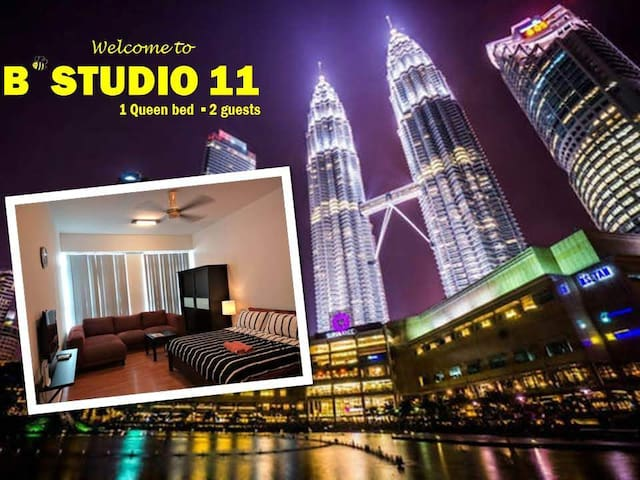 B'Studio 11 near KLCC (Maytower Hotel)