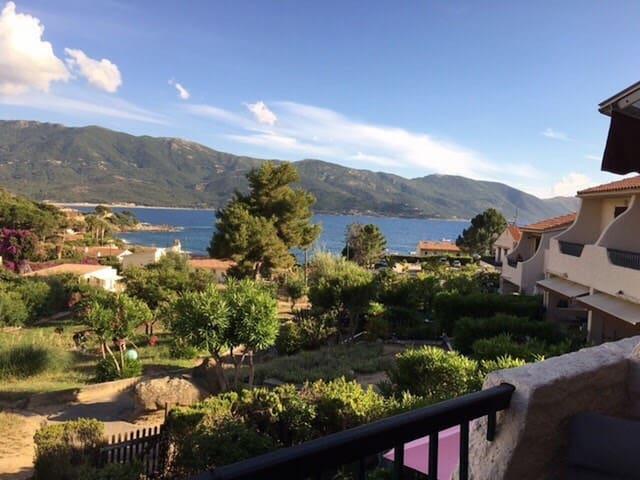 Joli studio vu mer pour 3 personnes en Corse - Casaglione - Pis