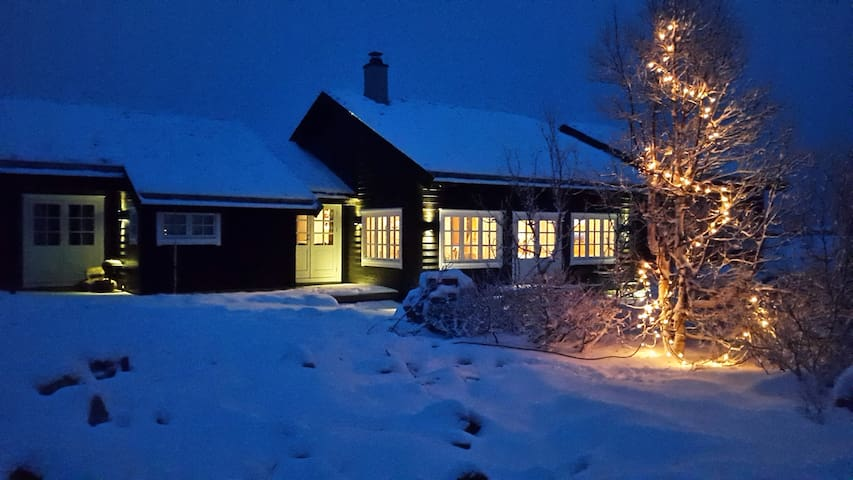 Modern family cabin at Kikut, Geilo.