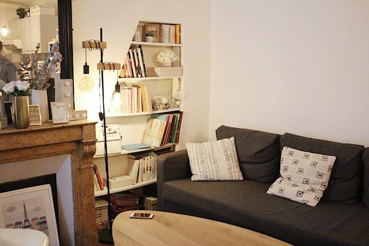 Charmant appartement au calme, proche Montmartre
