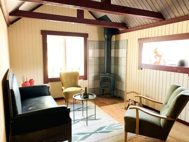 Charmigt hus i Hälsinglands hjärta! Hov/Vallsta