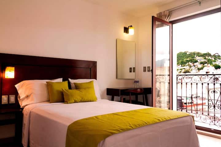 Hotel Alma de Oaxaca | Hab. 1 Cama  Matrimonial