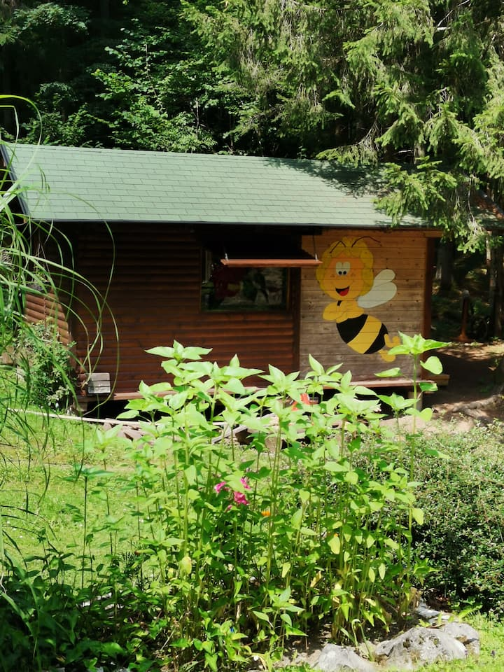 The big bee Maja- glamping house