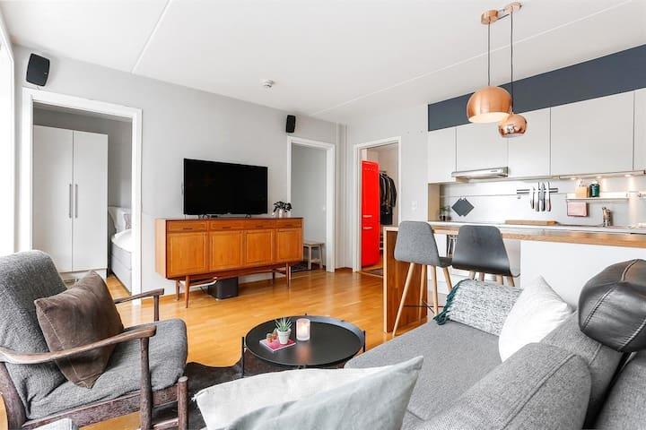 Fanstastyne mieszkanie w nowoczesnym stylu