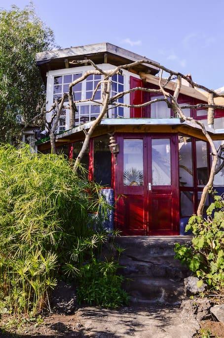 Tirimaga178 la casa del arbol casas en el rbol en for Alquiler casa arbol