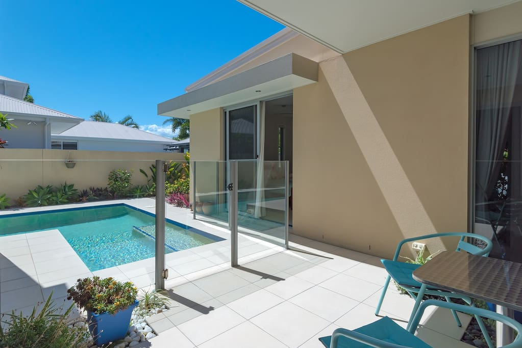 Undercover Patio & Pool Access