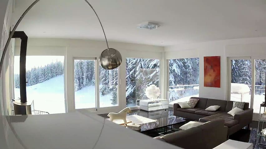 Alpine Retreat - Contemporary Chalet House - Saint-Cergue