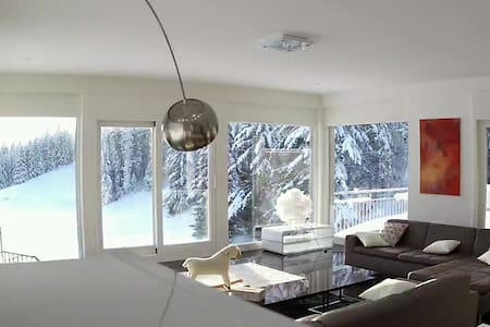 Alpine Retreat - Contemporary Chalet House - Saint-Cergue - 別荘