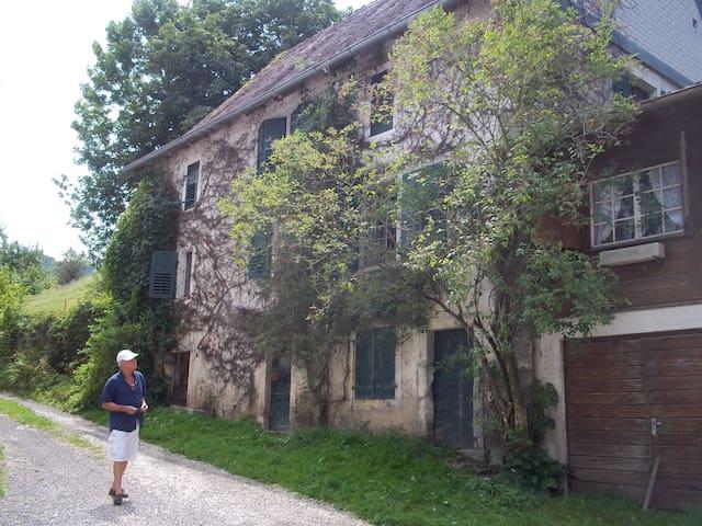 Maison de charme à la campagne - Saint-Ursanne - Pousada