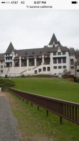 Local Lucerne castle