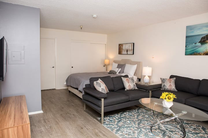 Chic Hollywood Studio - Fully Furnished