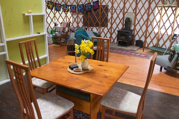Irie's Yurt!