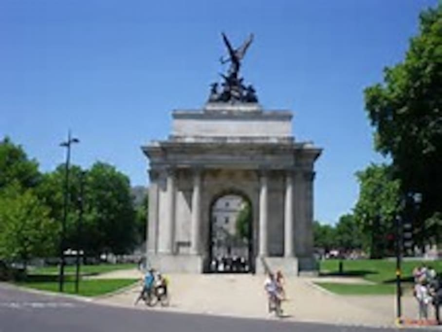 Marble Arch 3 minute walk