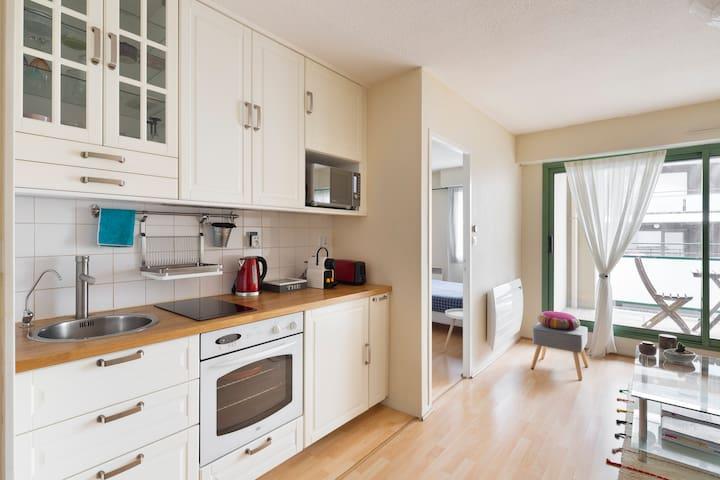 Appartement T2 centre Rennes + parking privé