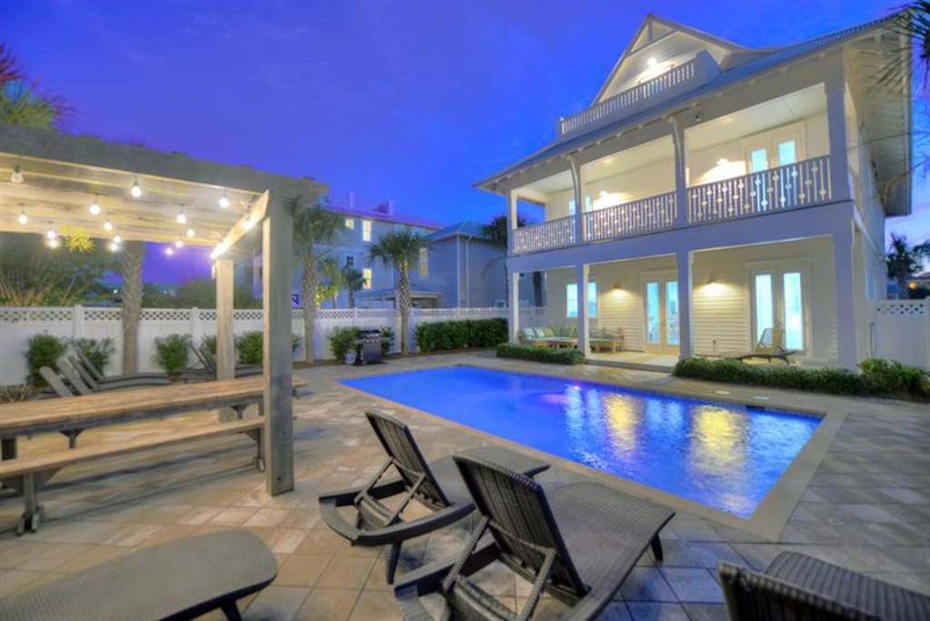 8 Bedroom Beach House In Destin Florida