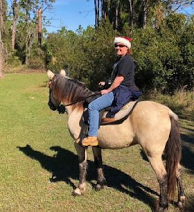 Inquire about booking a trail ride.