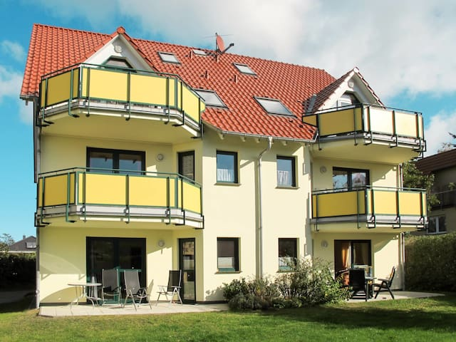 Holiday apartment Ostseetrio w/ terrace, in convenient location