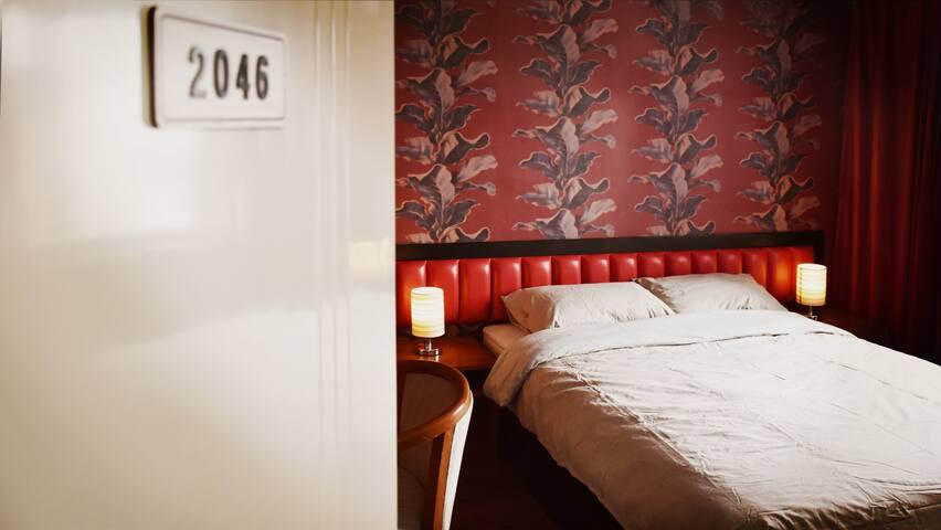 【丽珍家】住进电影里·王家卫港风两居室·近三元桥机场线/故宫/三里屯/798/大使馆区