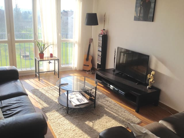 Nice Apartment (70 m²) Clean and Sunny - Mantes-la-Jolie - Huoneisto