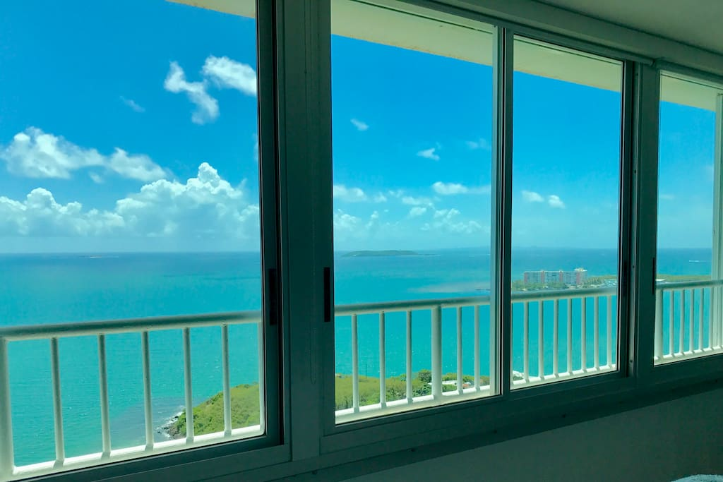 Miles and miles of ocean and island views from every corner of the property.