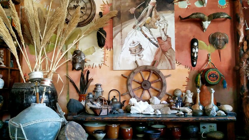 中国山东省威海市五色风马艺术主题客栈 - Weihai - Villa