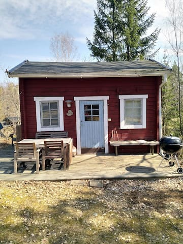 Cottage with doublebed + loft.