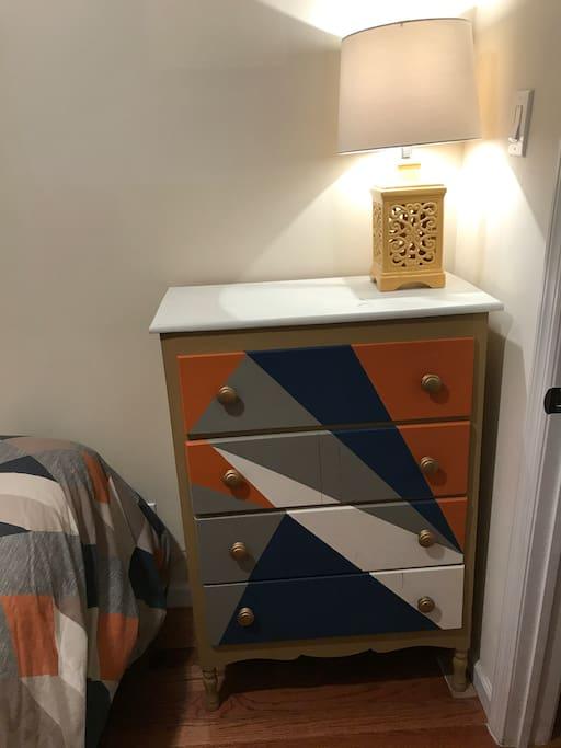 Dresser in Bedroom