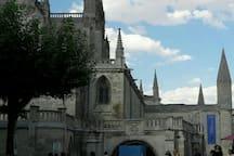 Plaza de la historica Catedral data siglo XIII.