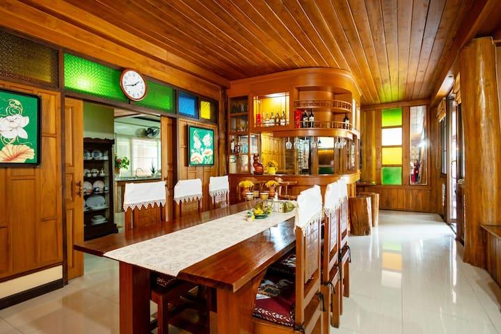 Luxury Pool villa Lanna Thai style