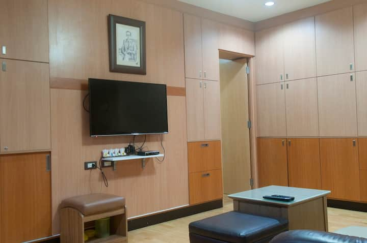 Modern room near Khaosan/Grand Palace up to 4Per.