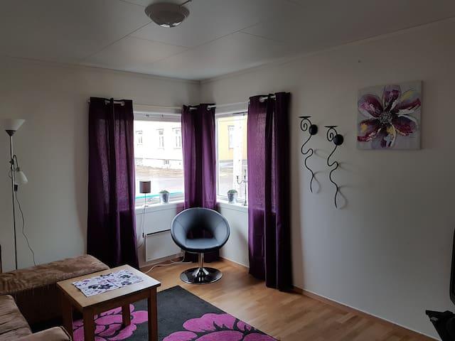 Koselig liten leilighet i rolig område