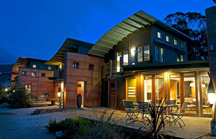 Sustainable Spacious Eco Apartment in 5acre resort - Tawonga South - Apartamento