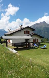 Meraviglioso chalet nel cuore delle Alpi - Sernio - Dağ Evi