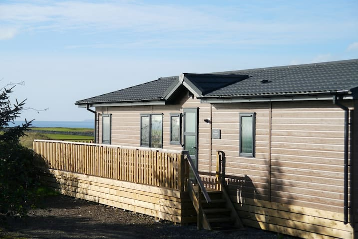 Lodge with Sea Views - Brighouse Bay Holiday Park