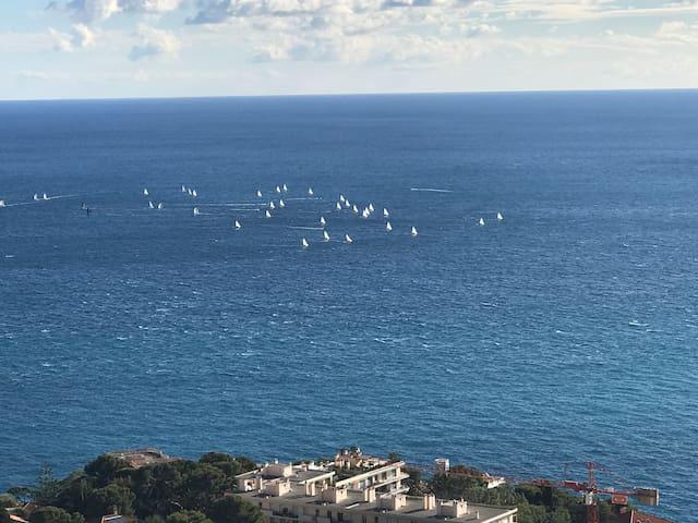 2/3 pièces Cap d'Ail Monaco Vue mer exceptionnelle
