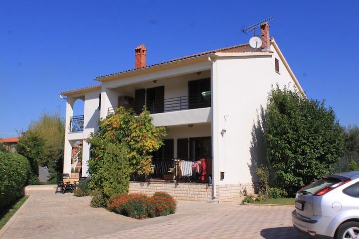 One bedroom apartment with terrace Valbandon, Fažana (A-7304-b)