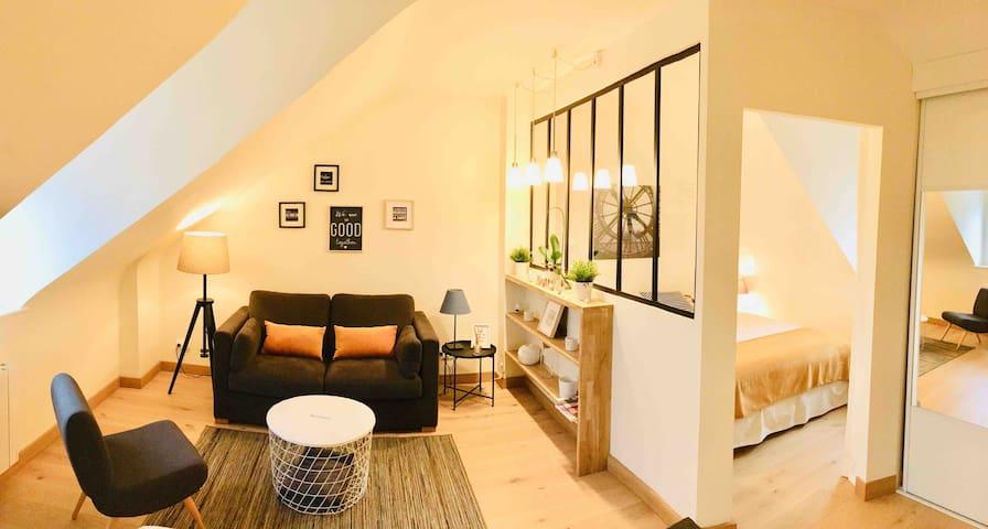 Charmant appartement sur le port de Deauville