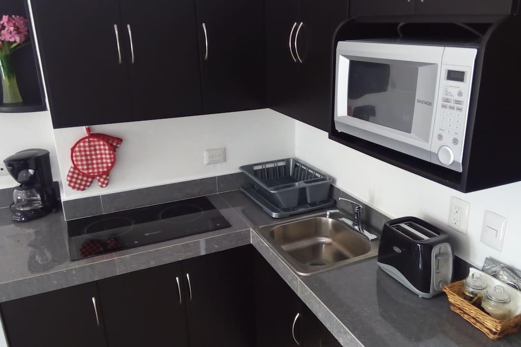 Induction stove/ Estufa de inducción