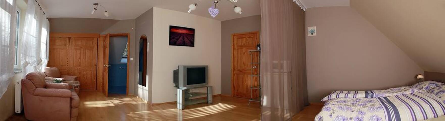 Magia przy gondoli- Apartament LAWENDOWY