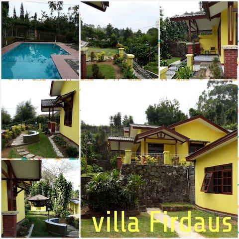 Villas with breathtaking scenery