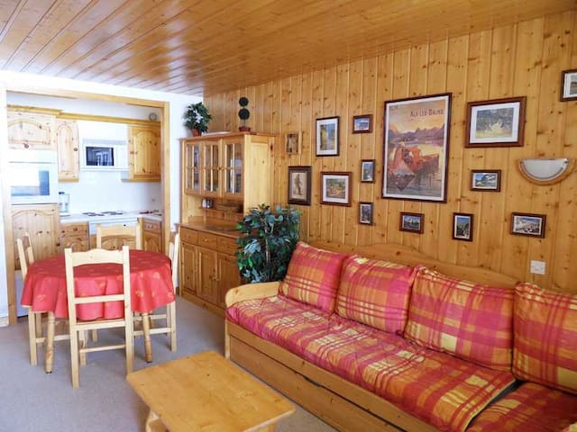 PS0806 - SUNNY APARTMENT WITH A LARGE SOUTH TERRACE - MERIBEL MOTTARET - 公寓