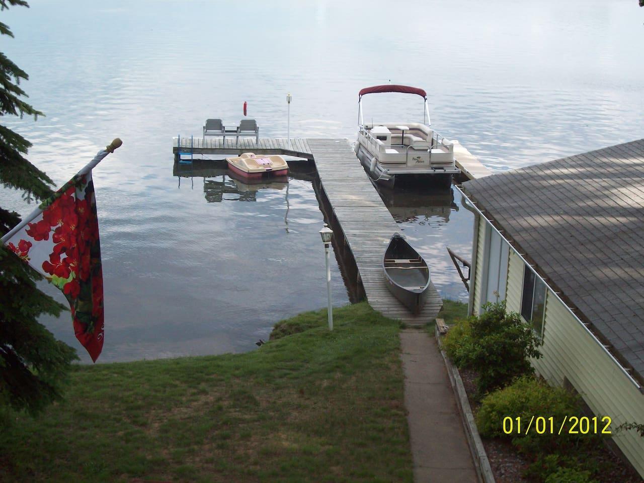 Lake Minocqua frontage