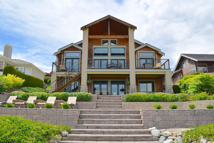 Beautiful Lake Chelan Private Home